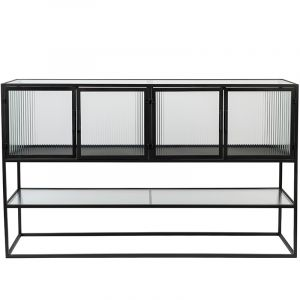 SIDEBOARD BOLI HIGH BLACK