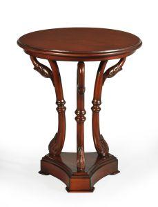 Bordeaux Swan Side Table
