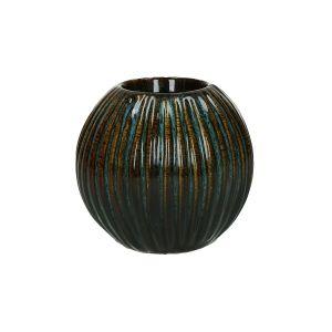 Brown Oval Tealight