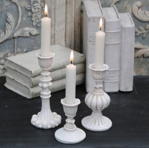 Chic Antique Candlestick