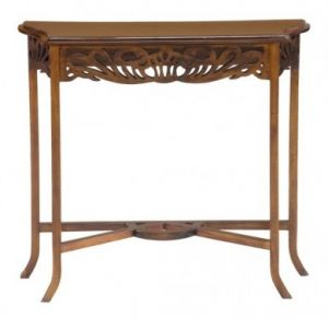 Bordeaux Carved Console Table