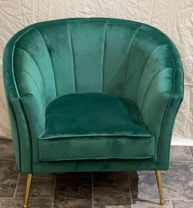 Rialto Tub Chair Dark Green