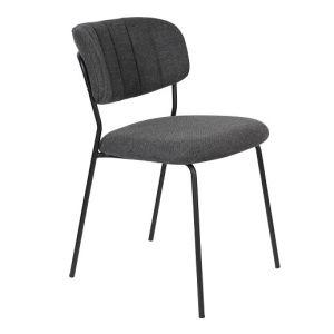 Chair Jolien Black/Dark Grey