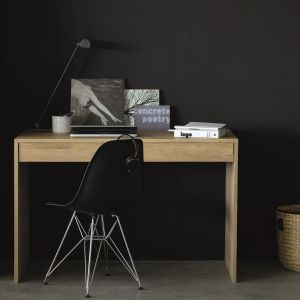 Oak Wave Office Console 1 DRW