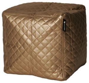 Elephant Cube - Quilted Gold