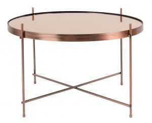 SIDE TABLE CUPID LARGE - COPPER