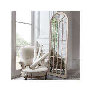 Curtis Mirror- antique white
