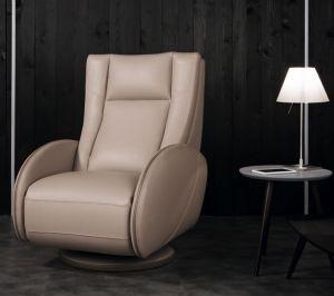 Mizar recliner armchair leather 3000