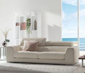 Alison Leather Sofa 3000
