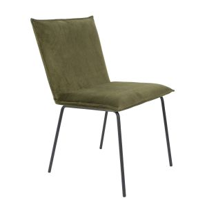 Dining Chair Floke Velvet Olive
