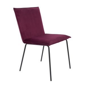 Dining Chair Floke Velvet Wine