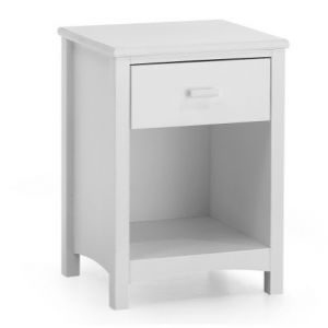 Eleanor 1 DRW Nightstand White