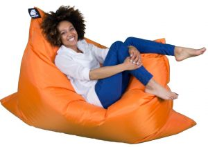 Elephant Jumbo Bean Bags- Zesty Orange