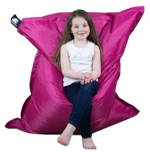 Elephant Junior Bean Bag - Shocking Pink