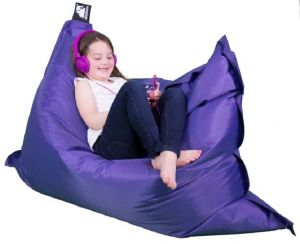 Elephant Junior Bean Bag - Ultra Violet