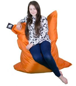 Elephant Junior Bean Bag - Zesty Orange