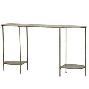 Federal Console Metal Antique Brass