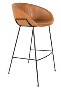 BARSTOOL FESTON - BROWN