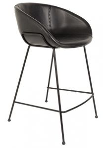 COUNTER STOOL FESTON - BLACK