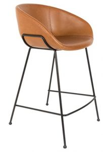 COUNTER STOOL FESTON - BROWN