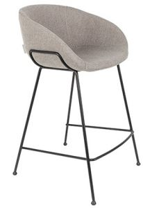 COUNTER STOOL FESTON - FAB GREY