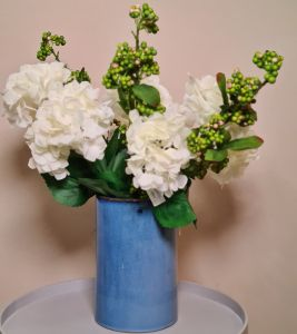 Flower Bouquet And Vase
