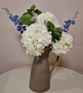 Flower Arrangement & Jug