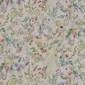 Forget Me Not Linen Oilcloth