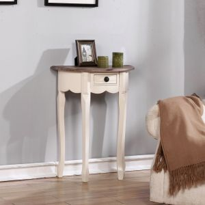 Sofie half round table