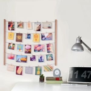 Hangit Wall Memo and Picture Frame Natural