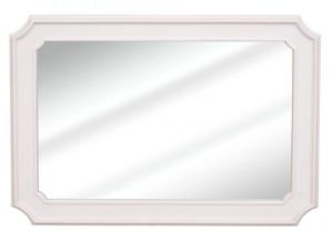 Helena White Antique Cream Mirror