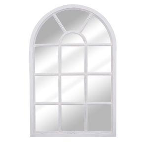 Helena White Arch Mirror