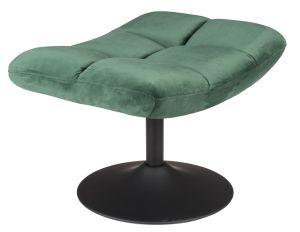 Hocker Bar Velvet Green