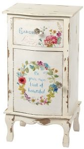 Floral Bedside Table