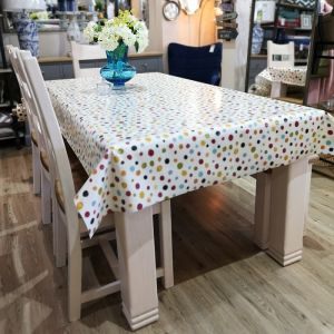 Whitby Multi Spot Oilcloth