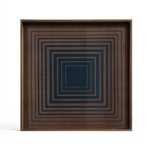 Ink Square Glass Tray Square Small