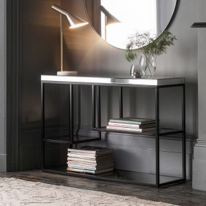 James Console Table Black