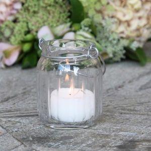 Jar Type Tealight Grooves