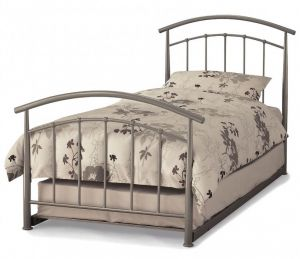 Mercury Pearl Silver Guest Beds