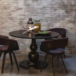 Mango Black Blanco Dining Table 120