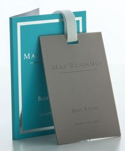 Blue Azure Scented Card