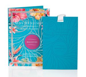 Maldives Scented Card