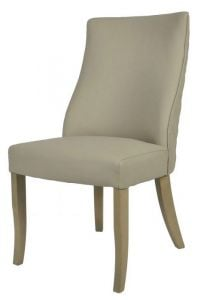 Millie Beige PU Chair