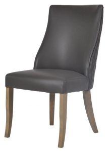 Millie Grey PU Chair
