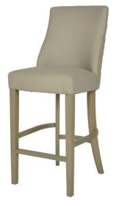 Millie Beige PU Counter Barstool