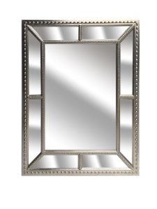 Alex Silver Bevel Mirror
