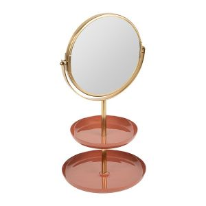 Standing Mirror Kleia Coral/Gold