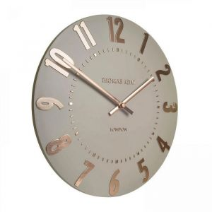 Mulberry Wall Clock Rose Gold 20 in