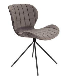 OMG Chair Velvet - Grey