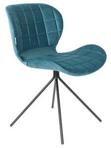 OMG Chair Velvet - Petrol